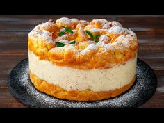 Choux Pastry, No Cook Desserts, Desert Recipes, Camembert Cheese, Cake Recipes, Picnic, Cheesecake, Good Food, Ice Cream