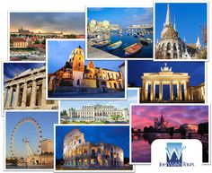Various destinations all over #Europe and beyond