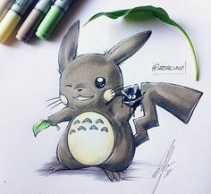 Pikaro :)) Look At This !! ☺Like and Share this with your friends ! Follow us if you are Totoro fan ! see more in www.totoroshop.co #totoro #ghibli #cute #love #life #anime #toys #gift #japan #fans #freeshipping #myneighbortotoro #girls #friends #korea #bestfriends #childhood #memories #bestmemories