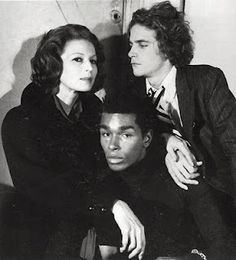 Silvana Mangano, Sterling St Jacques, and Francois Marie Banier, photo by Horst