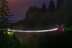Capilano Canyon is home to one of North America's most incredible winter lights festivals