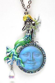 Kirks Folly DREAMY MERMAID SEAVIEW MOON NECKLACE silvertone Kirks Folly http://www.amazon.com/dp/B00TCXRKYA/ref=cm_sw_r_pi_dp_78BJwb0R4CJPQ