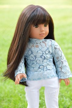 Journey Girls, Soft Waves, Doll Wigs, Dark Roast, Smooth Hair, Custom Dolls, Flat Iron, Girl Dolls, Tangled