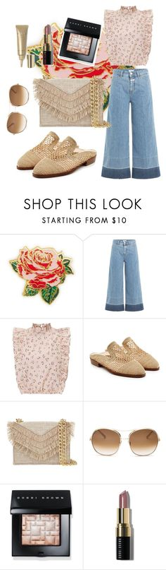 """Pastel tone"" by regina-eghie ❤ liked on Polyvore featuring ban.do, Closed, Robert Clergerie, Cynthia Rowley, Chloé, Bobbi Brown Cosmetics and Stila"