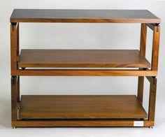 Audio Strata Audio Stand, Audio Rack, Audiophile, Woodworking Tips, Entertainment Center, Decoration, Speakers, Furniture Design, Shelves