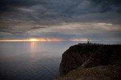 northcape, midnight sun Midnight Sun, Celestial, Sunset, Day, Beach, Water, Outdoor, Gripe Water, Outdoors