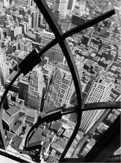 New York City — photo by Berenice Abbott (1938)