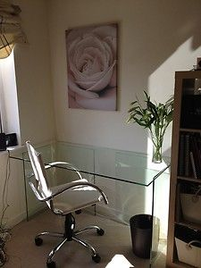 Glass Office Desk John Lewis