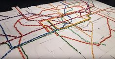 If imitation is the sincerest form of flattery then Harry Beck's famous diagrammatic Tube Map must be one of the most flattered items on this earth. But even Harry from Finchley would have been bemused by this edible tribute to his famous map. Before Harry Beck transport maps were about as legible as a bowl …