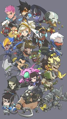30b6e5c83d All Overwatch Characters (Cartoon)
