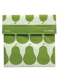 3 Green Moms Lunchskins Green Pear Sandwich Bag #vitaminshoppe #greenforgreen #contest