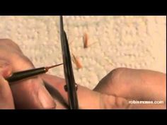 CUTTING BRUSHES for nail art, TOP COATING & other tips: robin moses nail art tutorial