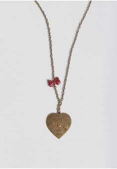 Love-O-Meter Pendant Necklace