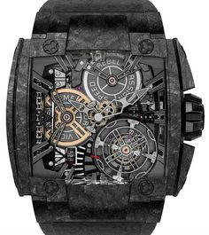 Magnum 540 Grand Tourbillon Carbon Rebellion часы Grand Tourbillon Carbon