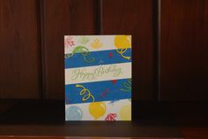 Any birthdays coming up? #handmadecards are the way to go