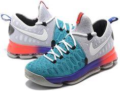 54fdf7b86513 Nike Zoom KD 9 Mens Basketball Shoes Blue1 Kd 9