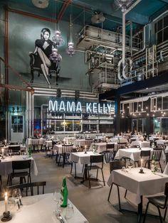 MaMa Kelly Urban Bistro Restaurant by De Horeca Fabriek, The Hague – Netherlands