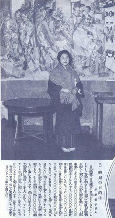 1932年(昭和7年)のアサヒグラフより。これは再掲載になってしまいますが、上海事変に対するいわゆる知識層の女性たちのコメントです。 当時は出版物は全て検閲を通りますから、4枚目の女優さんの平野郁子のコメントなどは〇だらけですがどういう内容を言ったのかは推察するしかありません。