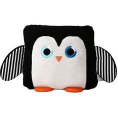 Poketti Plushies with a Pocket Plush Toy Pillow Sydney the Penguin -- Click image for more details. (This is an affiliate link) #PlushPillows