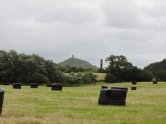 Glastonbury Tor seen from Bride's Mound, site of the medieval garden where all is not what it seems!