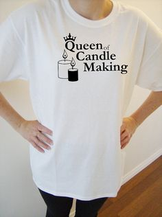 Original design cotton t-shirt  heavy cotton by SparkleandComfort