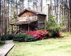 Pilot Mountain, NC, tobacco barn converted to a  cabin....So cool...want to stay in one..