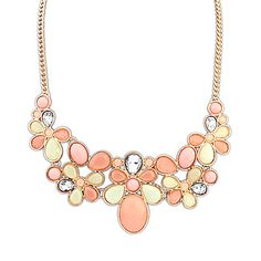 European Style Candy Gemstone Fashion Necklace – USD $ 12.99