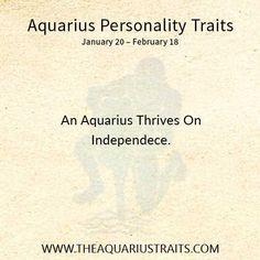 Aquarius Personality Traits, Aquarius Zodiac
