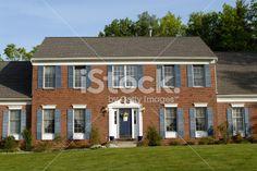shutter color for brick house - Home Decorating & Design Forum ...