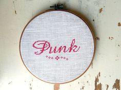 """Wandstück """"Punk"""""""""""