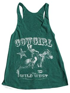 $18 Etsy listing at https://www.etsy.com/listing/157754874/cowgirl-tank-top-american-apparel