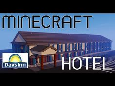 This is the final part of the hotel (Days Inn) tutorial series. Hopefully I have helped you guys improve your building . Minecraft Videos, Minecraft Projects, Minecraft City Buildings, Minecraft Redstone, Minecraft Decorations, Minecraft Construction, Minecraft Tutorial, Building A House, Improve Yourself