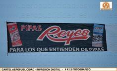 Campaña de PUBLICIDAD AEREA en Andalucia para la empresa FRUTOS SECOS REYES