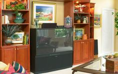 Home entertainment center designed for your family's needs!