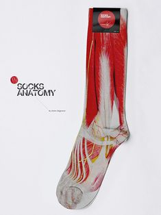 Nurses, would you wear this? Better yet, would you buy this anatomical sock?
