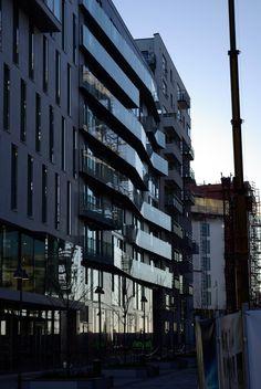 the MAD building, Tjuvholmen