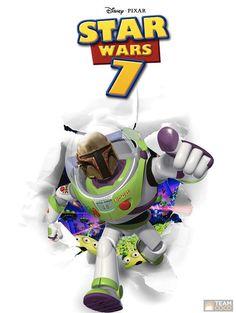 Toy Story Star Wars