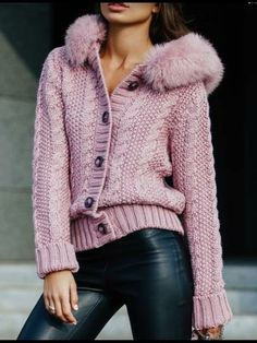 Women's Cardigans Online, Fashion women's cardigans on great price.Shop the latest trends women cardigan at anniecloth Knit Jacket, Knit Cardigan, Loose Sweater, Stylish Outfits, Cute Outfits, Modest Fashion, Fashion Outfits, Teenager Outfits, Sweatshirts