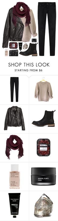 """""""the long knife of the sun rising"""" by space-cadet ❤ liked on Polyvore featuring R13, H&M, Ulla Johnson, Korres, Koh Gen Do, TokyoMilk, women's clothing, women's fashion, women and female"""