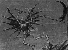 Angel of Death Don't Fear The Reaper, Grim Reaper, Dark Love, Dark Artwork, Tumblr Backgrounds, Occult Art, Angel Of Death, Medieval Art, Fantastic Art