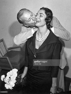 Curd Jürgens und Ehefrau Simone Bicheron