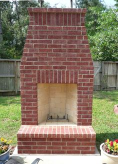 outdoor fireplace, for jess and nolan to build me this summer:)