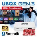 [$129.90](▼57%) [UNBLOCK TECH][FREE SHIPPING] NEW UNBLOCK Tech TV BOX UBOX Bluetooth Version: 1000 Free Channels TV Box UBOX bluetooth (Ubox itself without Live TV software, but the UBOX has intern…