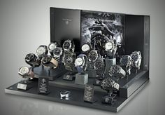 All 17 watches on our Honister slate display