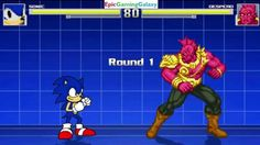 Despero VS Sonic The Hedgehog In A MUGEN Match / Battle / Fight This video showcases Gameplay of Despero VS Sonic The Hedgehog In A MUGEN Match / Battle / Fight