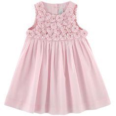 Tartine et Chocolat - Dotted voile dress - 149984 Little Kid Fashion, Kids Fashion, Pakistani Kids Dresses, Little Girl Dresses, Flower Girl Dresses, Kids Summer Dresses, Dress Anak, Baby Dress Design, Kids Frocks Design
