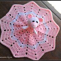 lovey blankets to crochet - Google Search