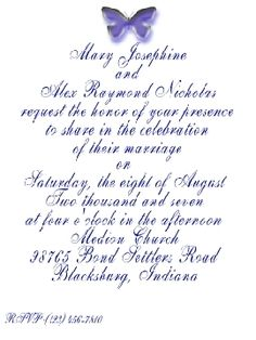 Post Wedding Reception Invitation Templates | Wedding Invitation ...