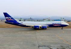Silkway B747-8F freighter - by KEN-1-BAN