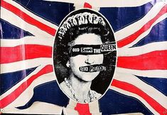 Sex Pistols tribute to her majesty.....